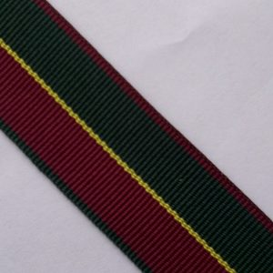 7_8_inch_Forest_Green_Burgundy_specialty_ribbon