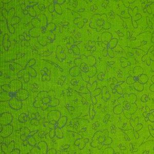 Quilting Fabric and Rhinestone Trim 025