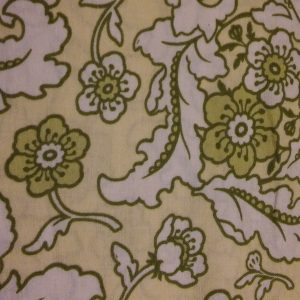 Quilting Fabric and Rhinestone Trim 027