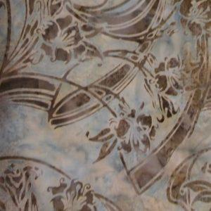 Quilting Fabric and Rhinestone Trim 042