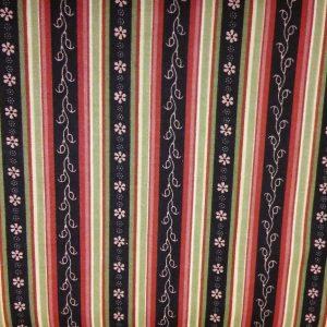 Quilting Fabric and Rhinestone Trim 055