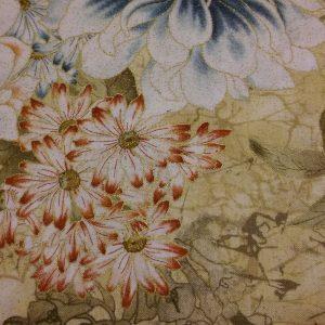 Quilting Fabric and Rhinestone Trim 061